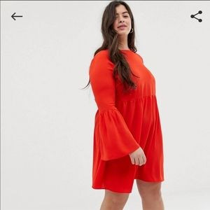 NWT ASOS CURVE Red ❤️ Dress